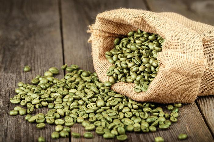 gå ner i vikt med grönt kaffe
