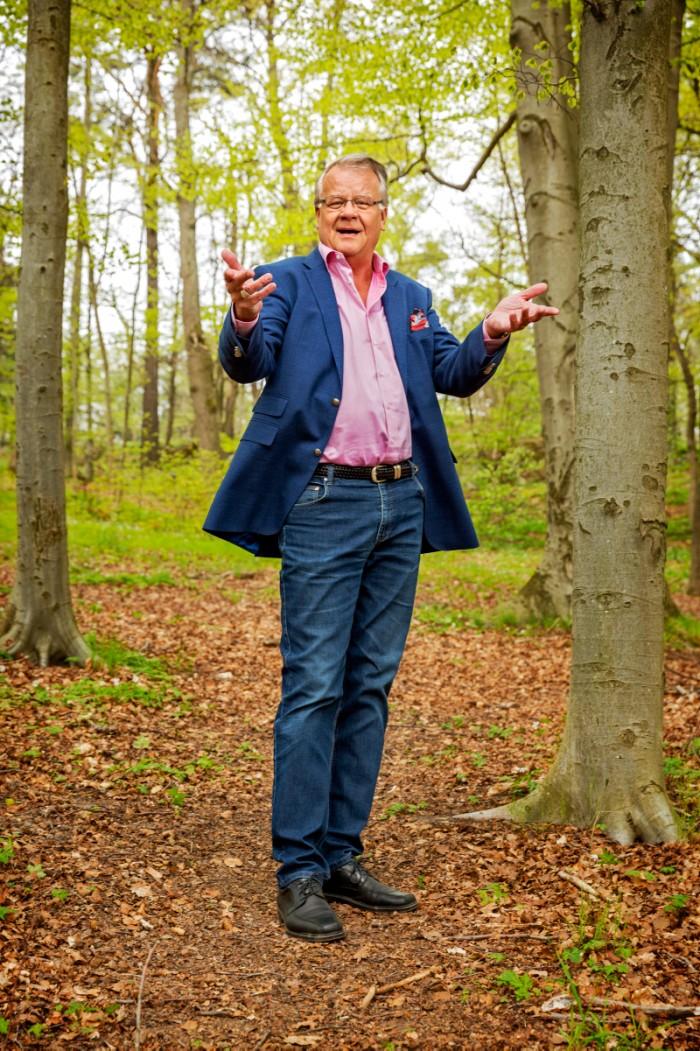 """Visste du att det var Lasse Berghagen som skrev """"Stockholm i mitt hjärta"""", signaturmelodin till programmet """"Allsång på Skansen"""". Foto: Ulf Berglund"""