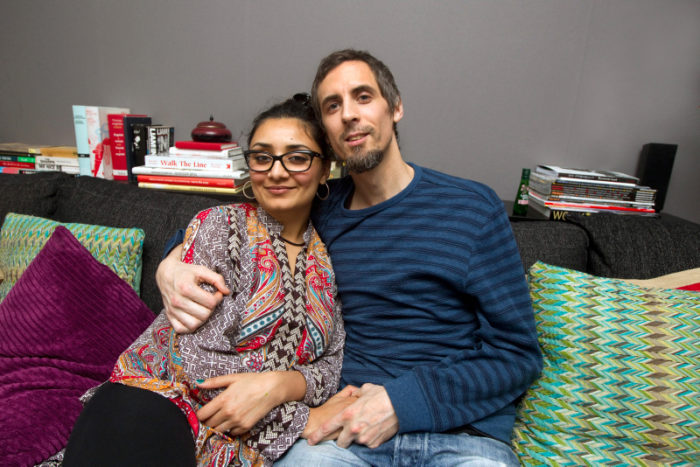Paret Ingvarsson träffades på en konstasajt