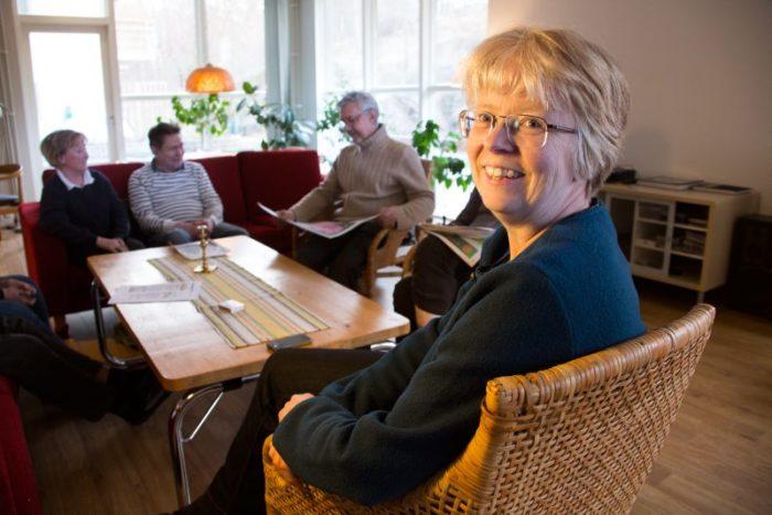Ulrika Egerö på kollektivboendet Dunderbacken