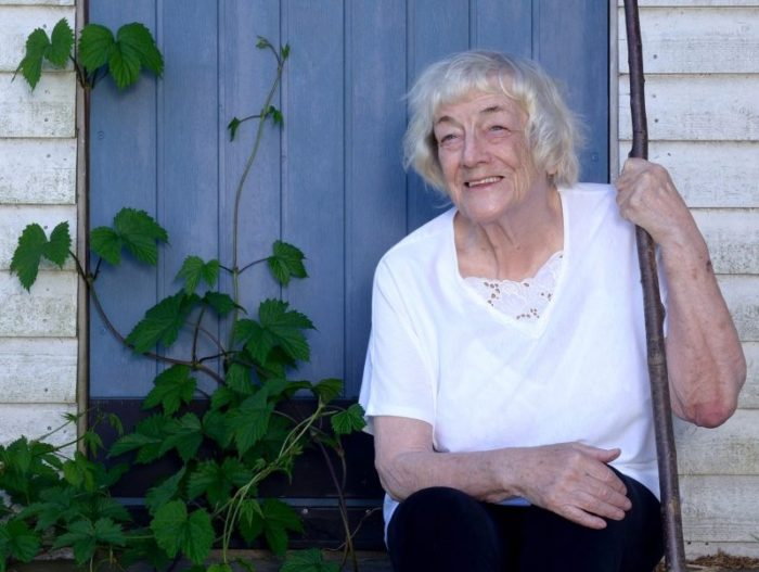 Författarinnan Margit Sandemo