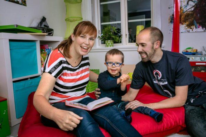 Mamma Anna, Alve och pappa Karl