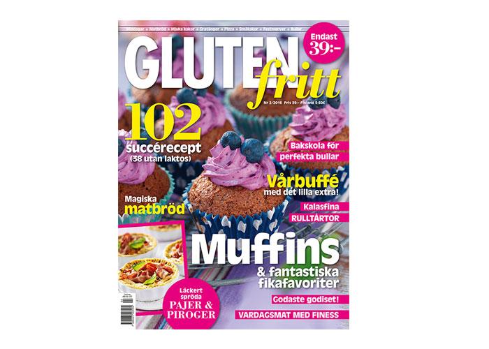nytt nummer av magasinet glutenfritt