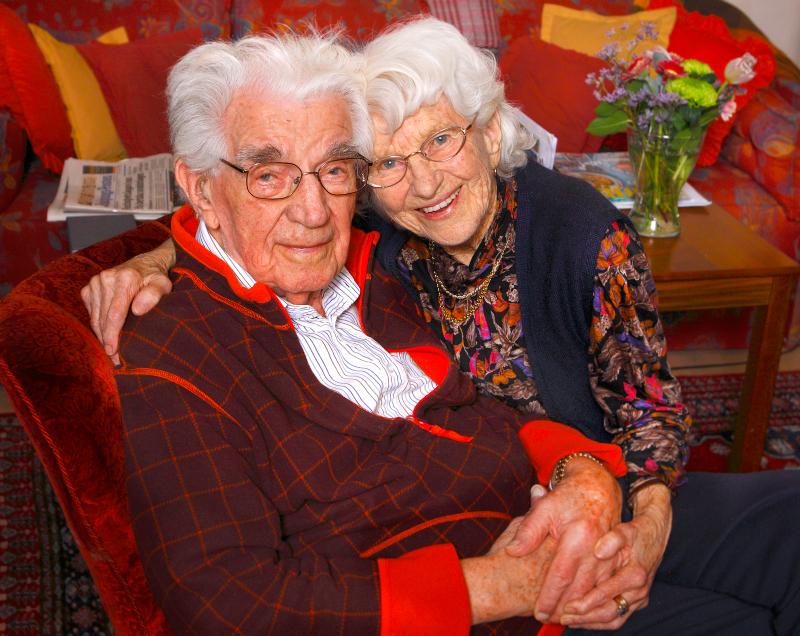 Paret  Kurt och Kajsa Öhman