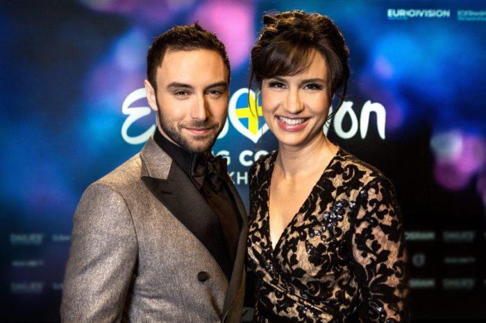 Måns och Petra Mede leder Eurovision tillsammans