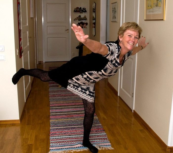 Monica dansar Zumba