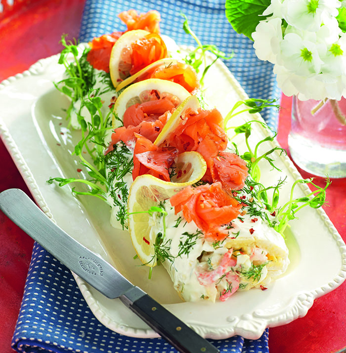 glutenfri smörgåstårta recept