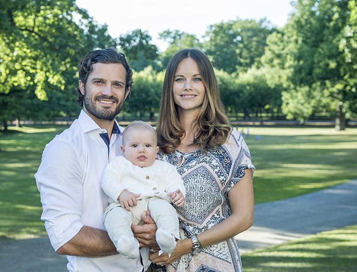 Prins Carl Philip, Prinsessan Sofia och Prins Alexander.