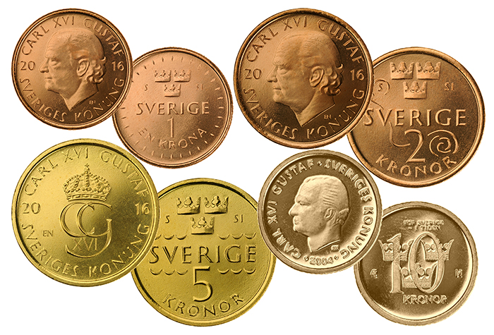 Sveriges nya mynt