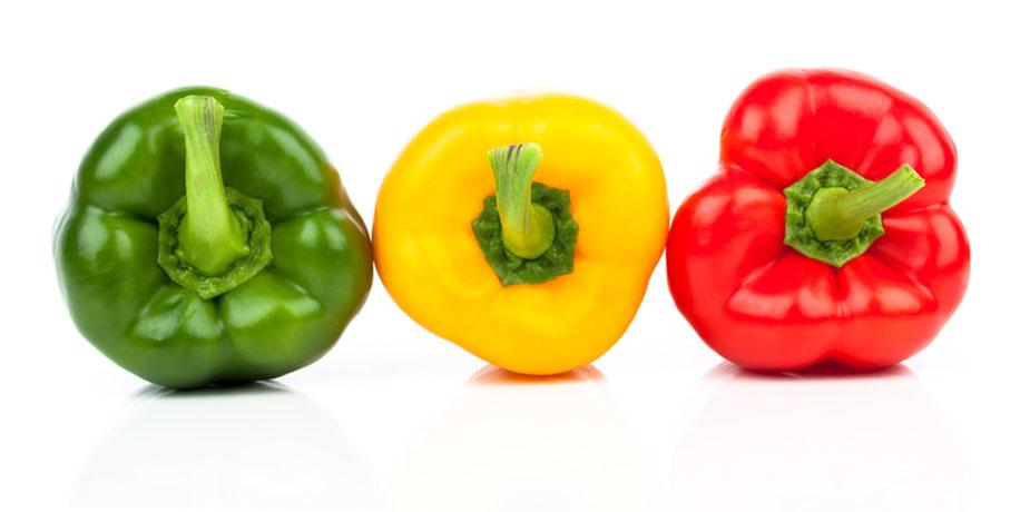 vilken paprika är nyttigast