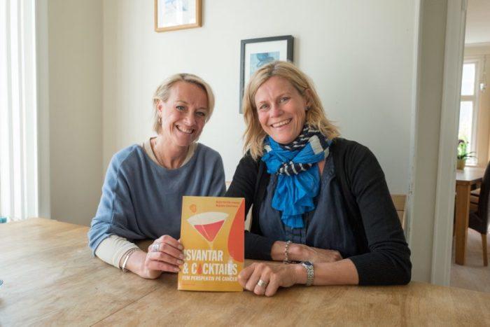 Magdalena och Birgitta har skrivit en bok tillsammans