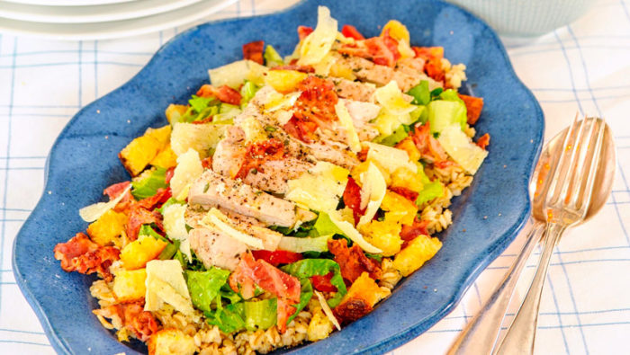 caesarsallad kyckling recept