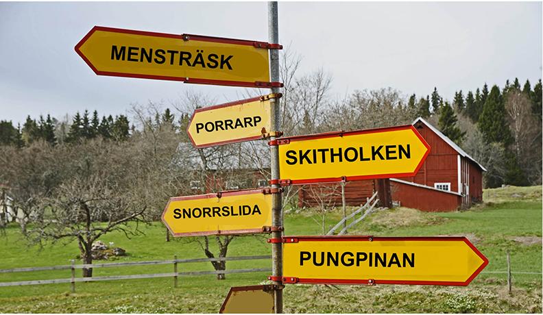 Orter och platser med sjukt roliga namn
