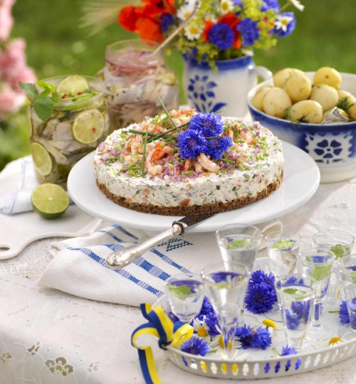 laxtårta utan gelatin