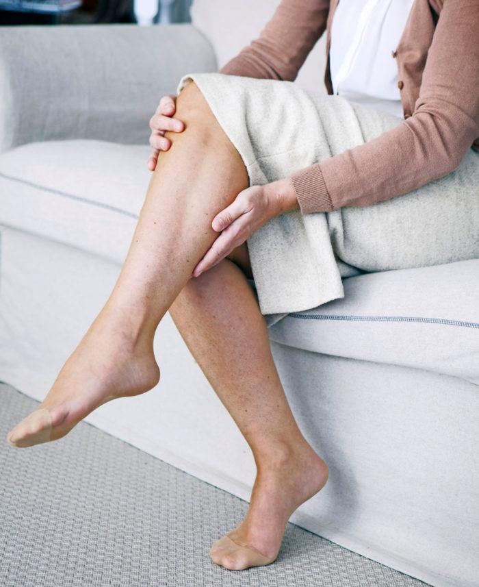kramp i foten ofta