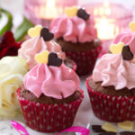 chokladmuffins med glasyr