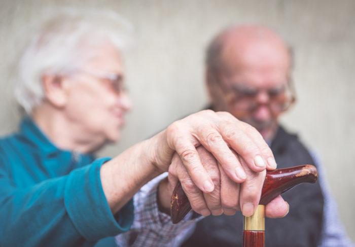 gammalt par, demens