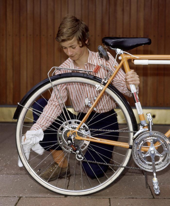 Jag cyklar aret runt