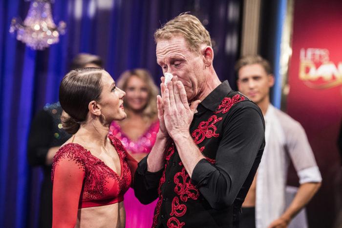 Gunde Svan gråter i Let's dance 2018.