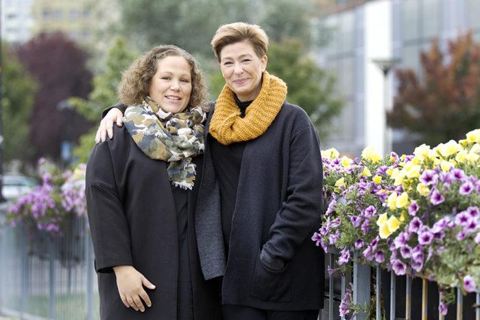 Anna-Karin Warnerud Eriksson och Maria Hammarström.