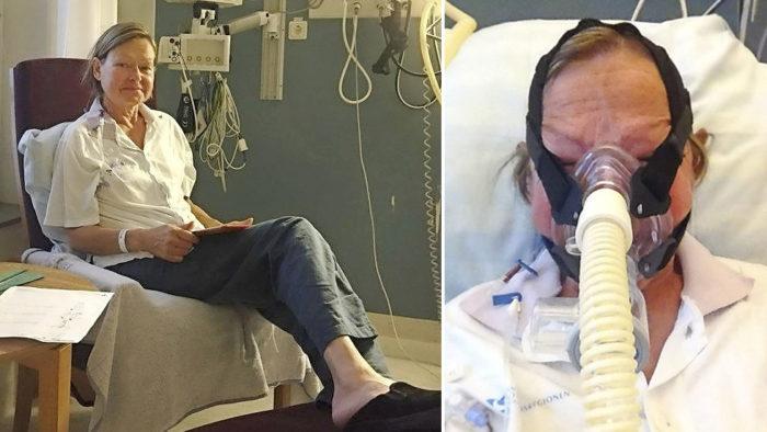 Ann efter operationen