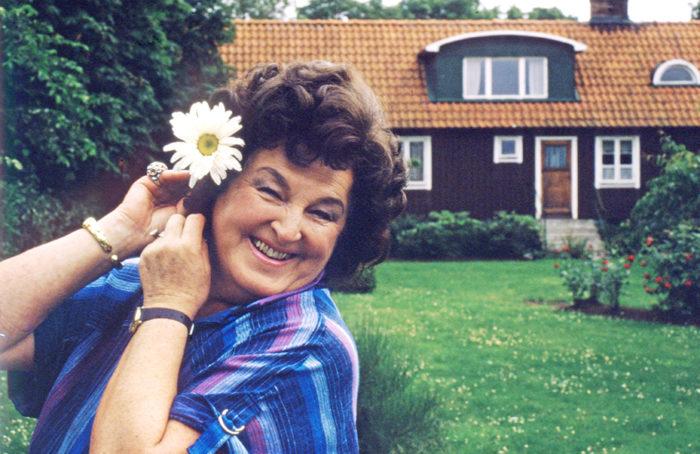 Birgit Nilsson i hemtrakten Västra Karup 1984.