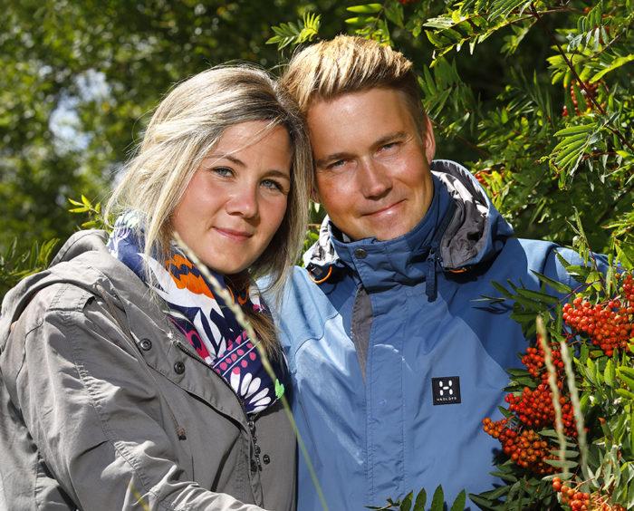Anneli och Henrik Vestberg
