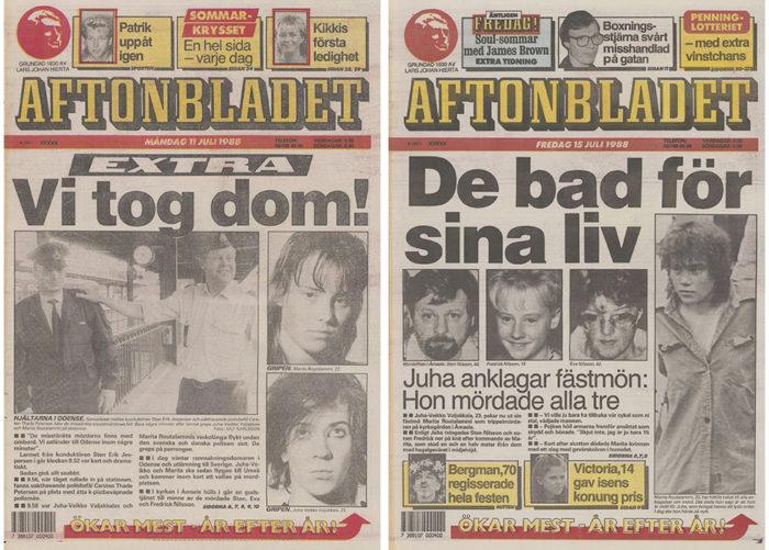 Aftonbladet trippelmorden Åmsele
