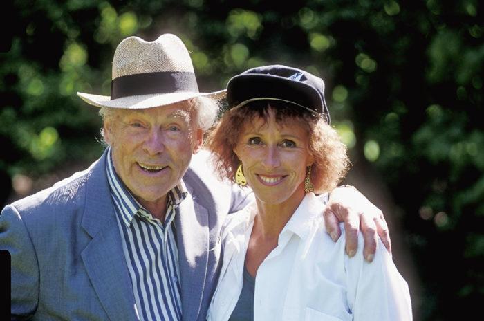Eva Rydberg och Nils Poppe
