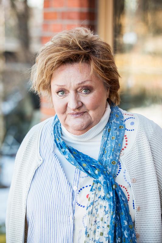 Marianne Mörck vid pressträffen av Sjölyckan, 2018.