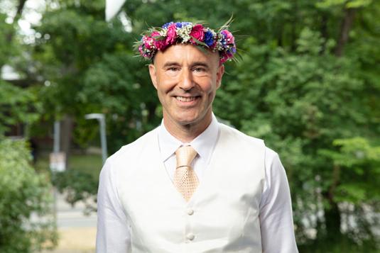 "Mark Levengood i ""Sommar i P1"" 2018."