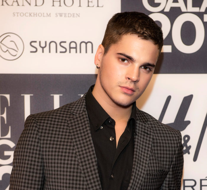 Oscar Zia på ELLE-galan 2018