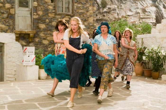 Meryl Streep i filmen Mamma Mia.