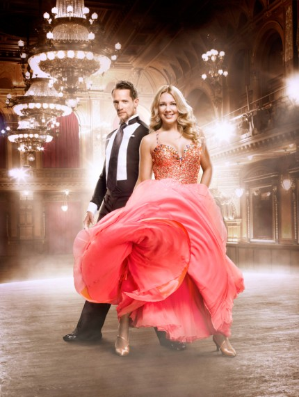 Lets Dance. 2013. Sportjournalisten Anna Brolin dansar med Tobias Wallin.