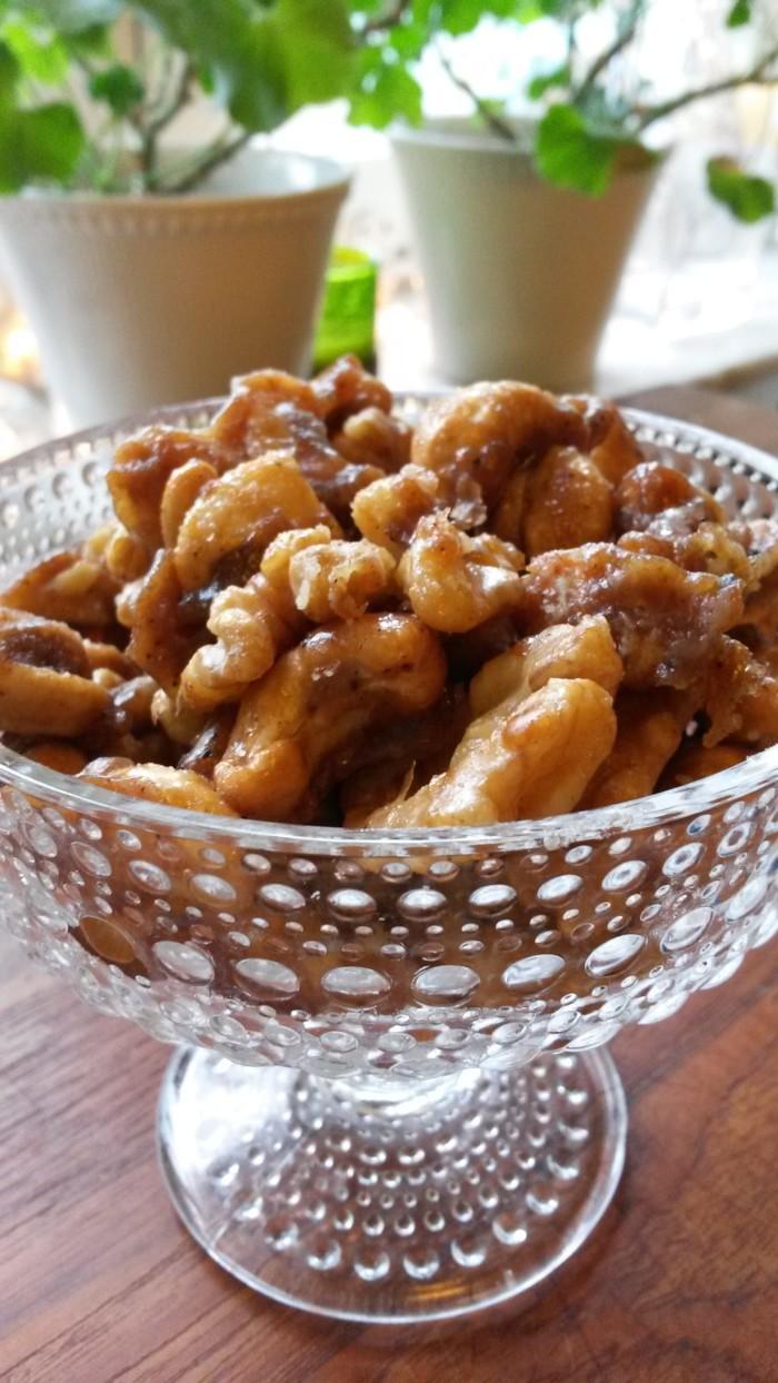 Det finns många olika typer av nötter, men dessa kryddiga, stekta i sirap tillhör de bättre.