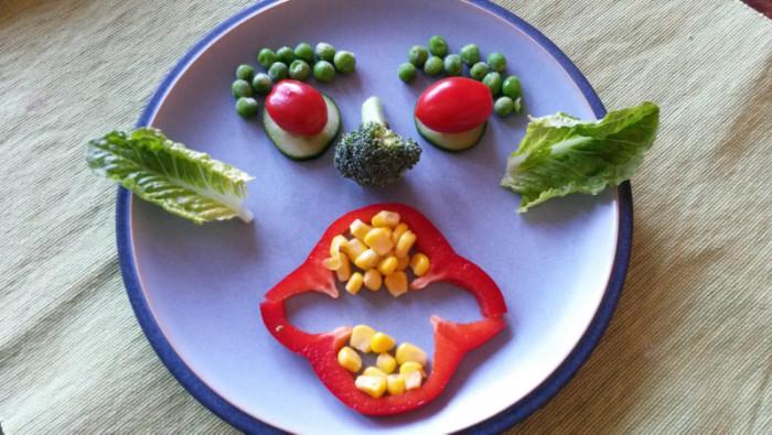 Mitt hysteriska försök att få barnen att uppskatta grönsaker...
