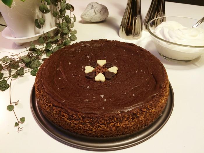 Baka glutenfri fudgetårta