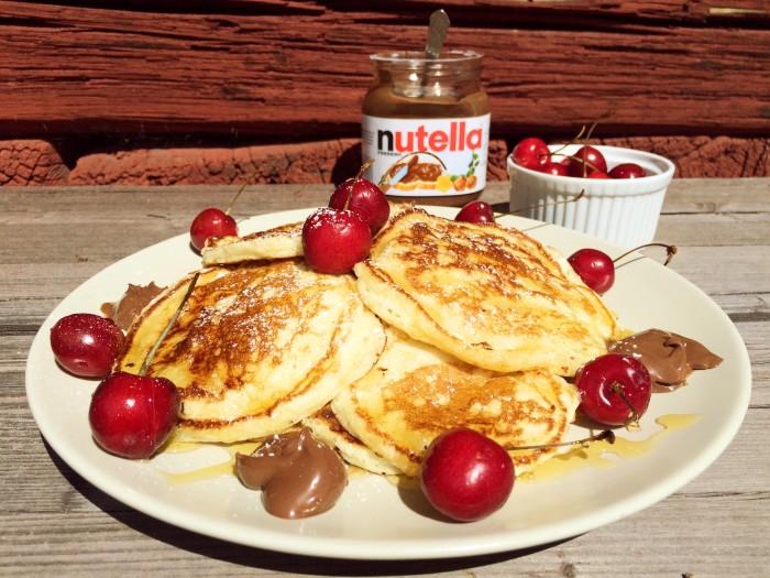 Glutenfria american pancakes
