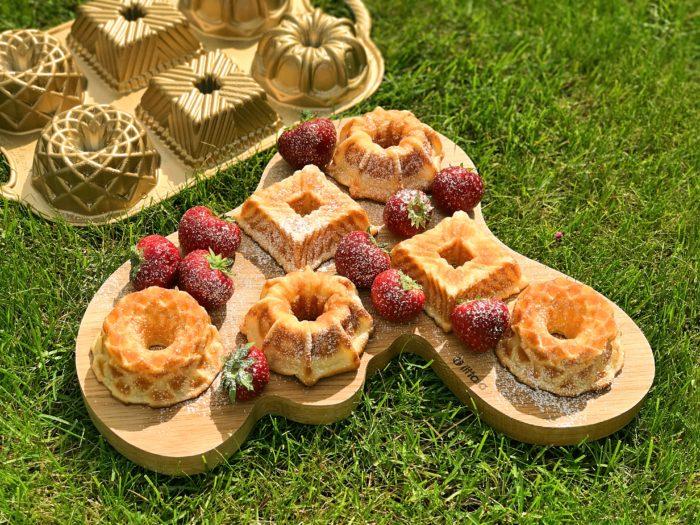 Glutenfria pannkaksmuffins brunch