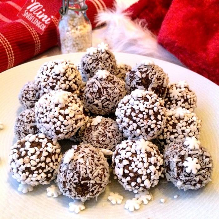 Glutenfria pepparkaksbollar