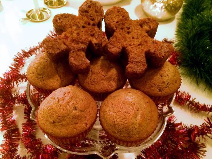 Glutenfria pepparkaksmuffins
