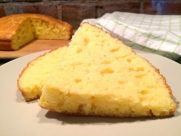 Glutenfritt enkelt majsbröd 2