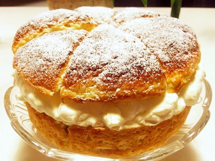 Glutenfri semmeltårta