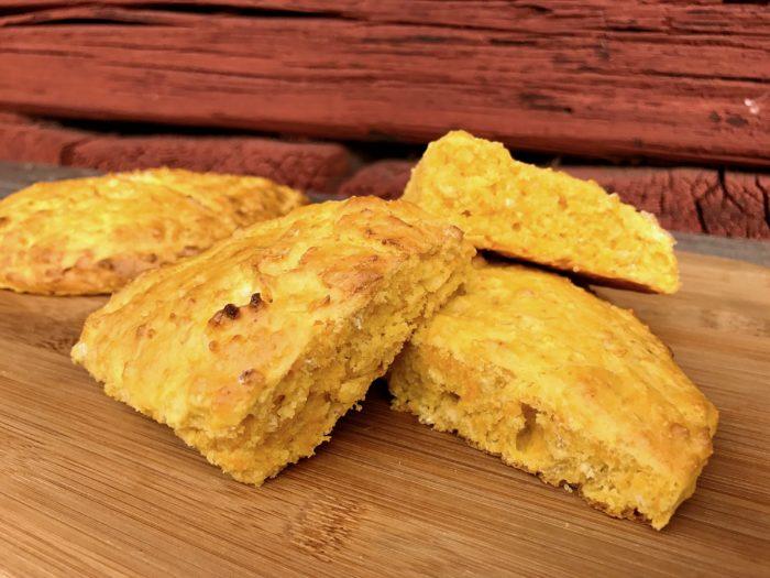 Glutenfria scones med morot
