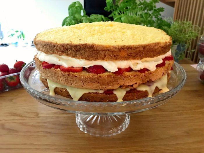 Glutenfri tårtbotten 28 cm