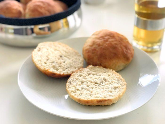 Glutenfria frukostfrallor