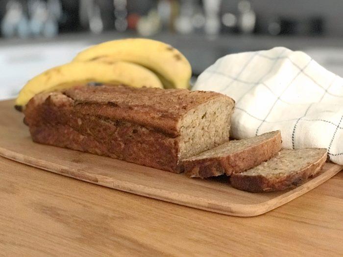 Glutenfritt snabbt bananbröd