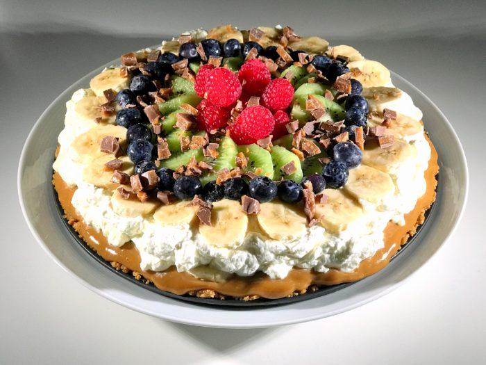Glutenfri fruktoffee paj