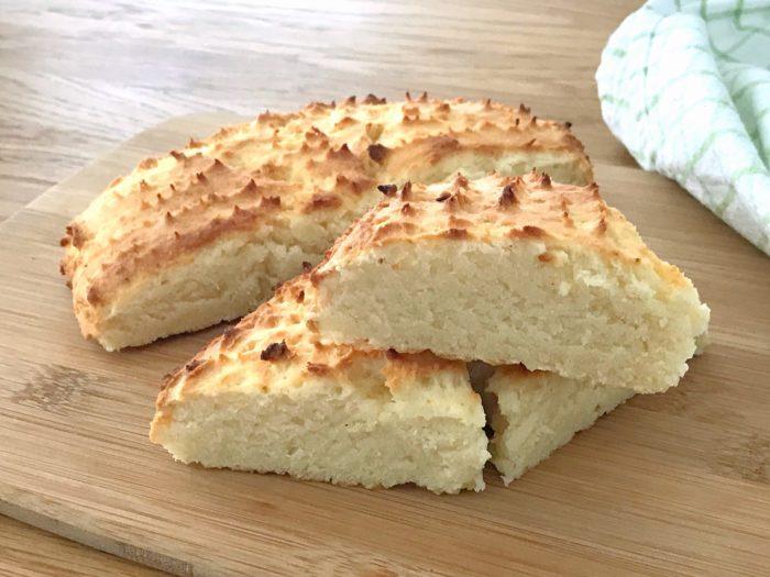 Glutenfria scones med xantangummi