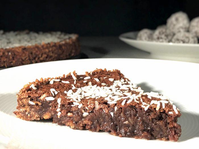 Glutenfri chokladbollskladdkaka